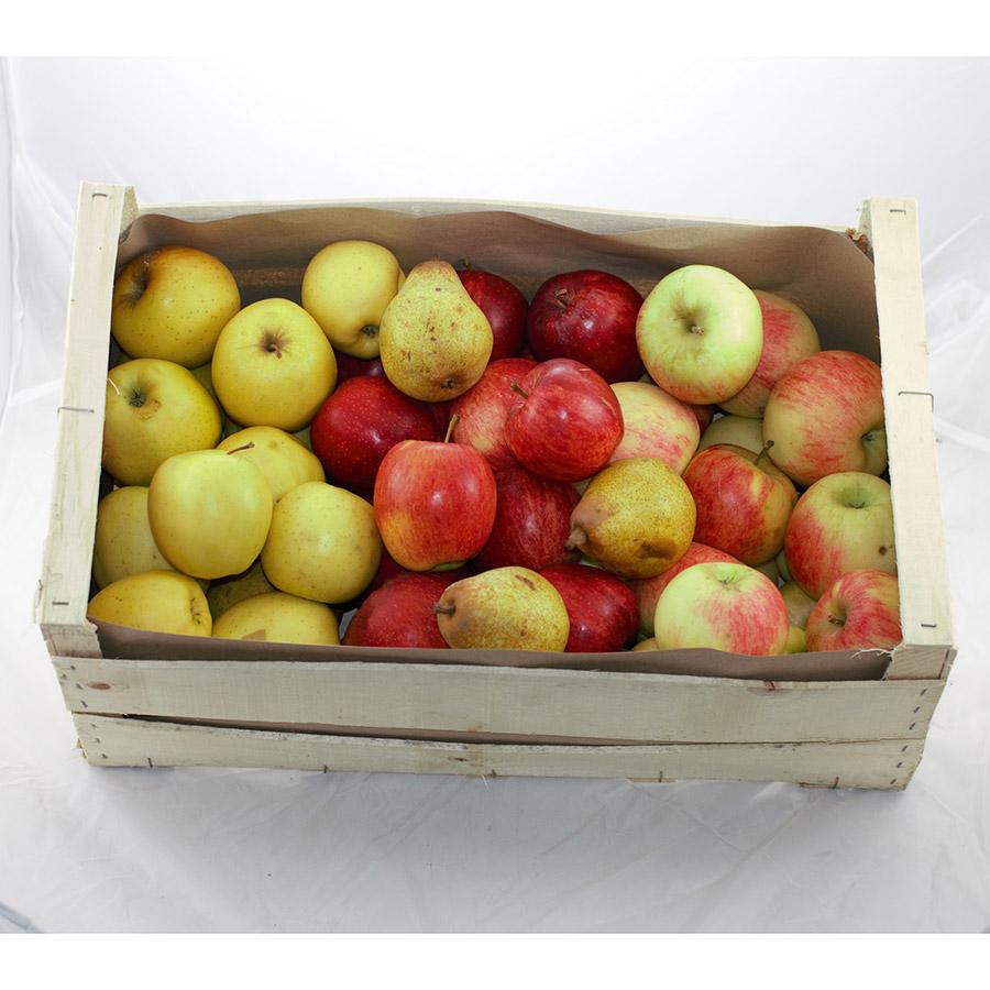Caisse De Pomme Vide mélange de pommes pour compote 12 kg en caisse